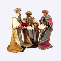 I tre re magi realizzati da Artigianato Presepiale