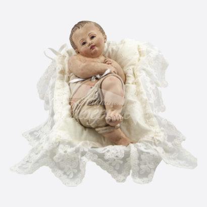 Bambino in terracotta da esposizione