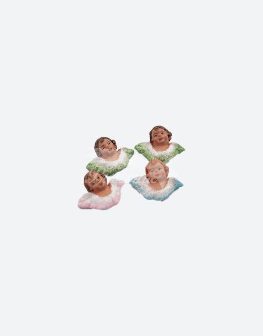 Preziosi cherubini dipinti a mano