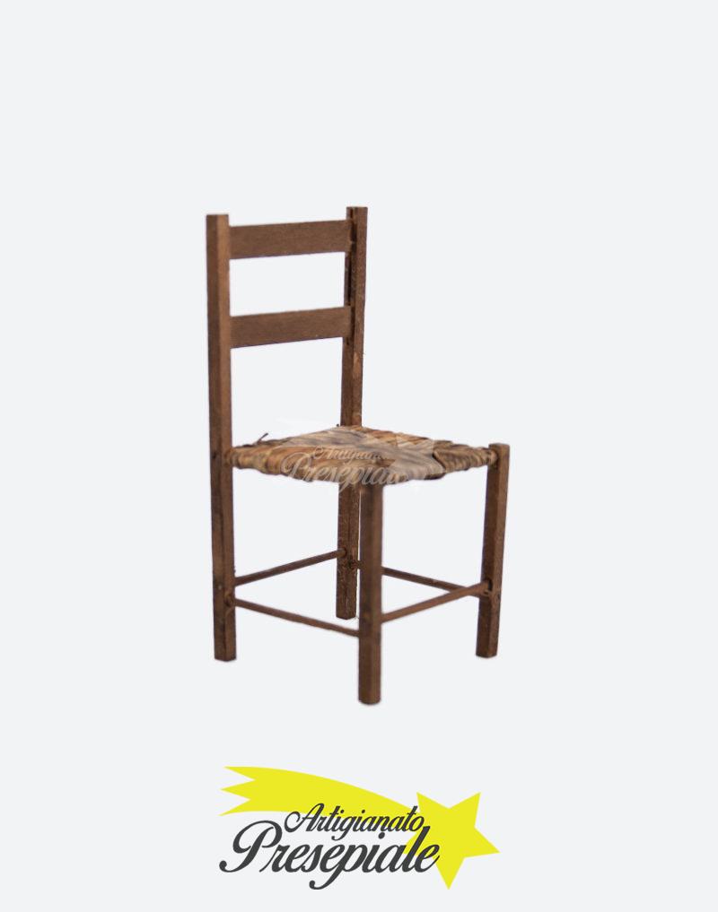 Sedia in legno per pastori 16-18 cm