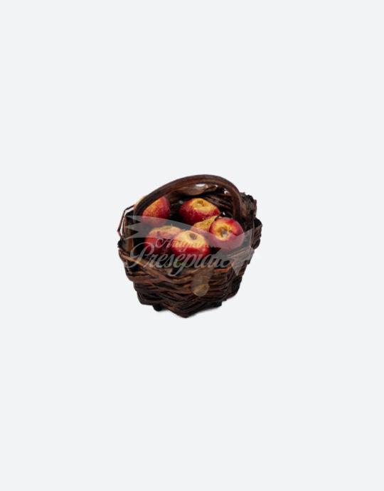 Cestino con mele annurche per pastori da 12-16 cm