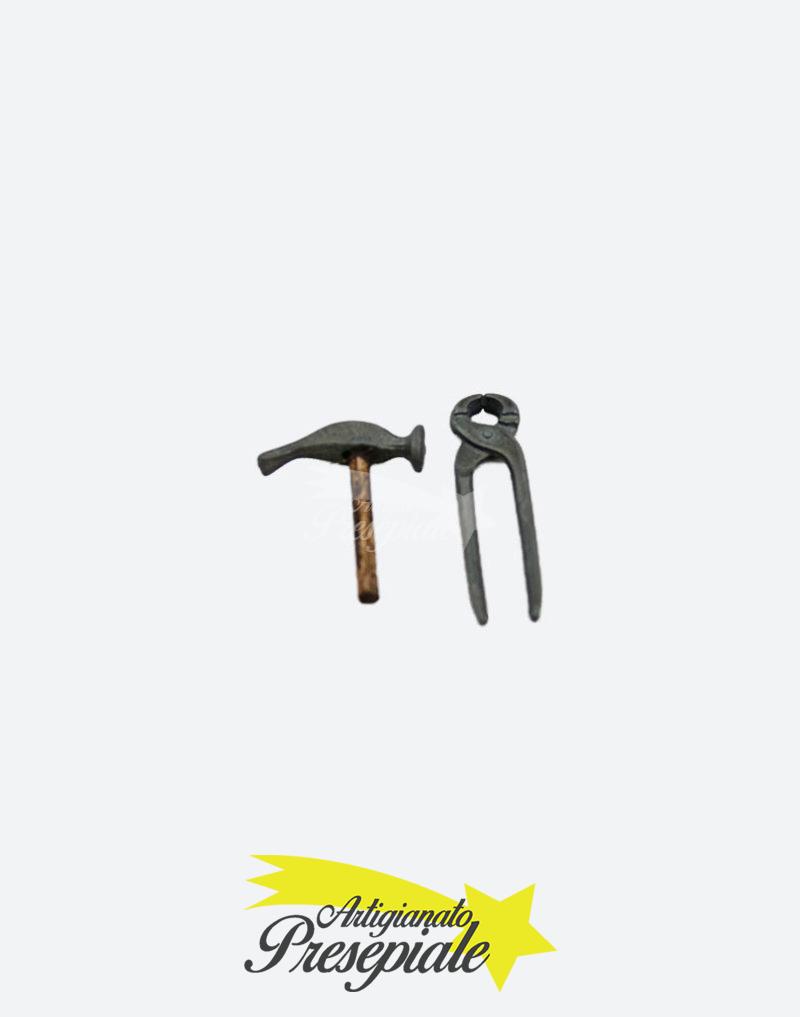 Tenaglia e martello per pastori da 12-16 cm