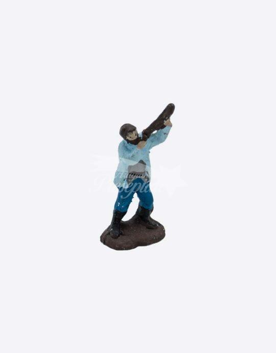 Cacciatore in terracotta da 3 cm