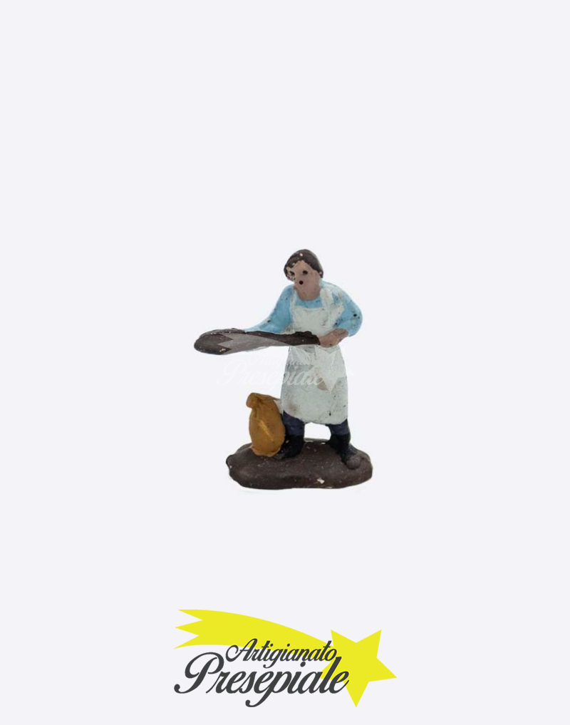 Fornaio in terracotta da 3 cm