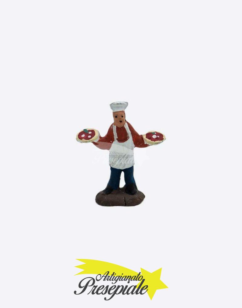 Pizzaiolo in terracotta da 3 cm