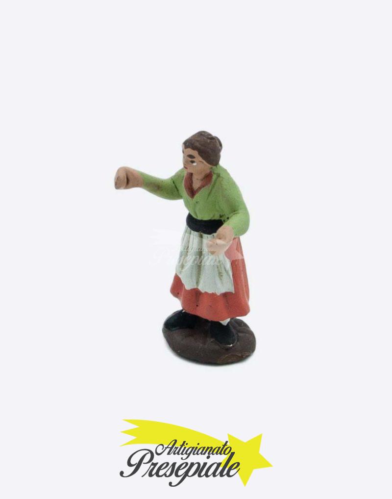 Donna con grembiule 5 cm