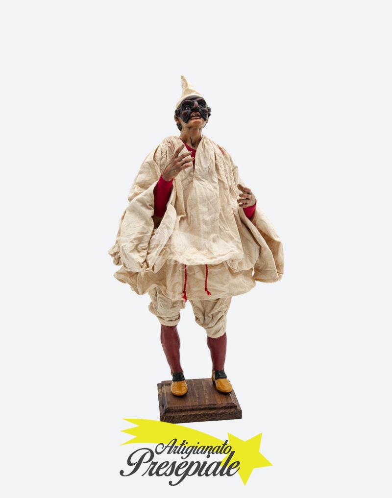 Pulcinella vestito 35 cm