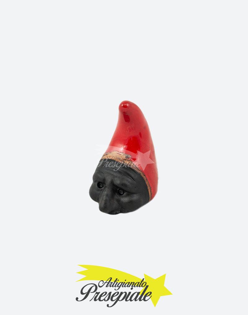 Corno con maschera nera 7 cm