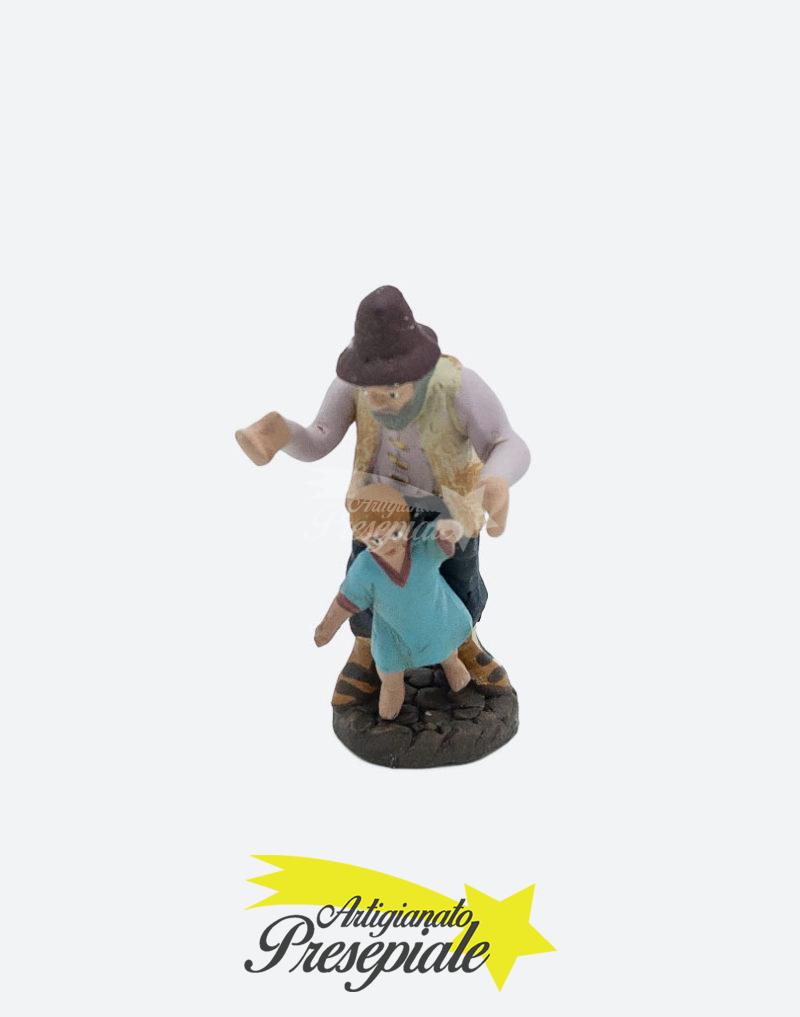Uomo anziano con bambino 7 cm