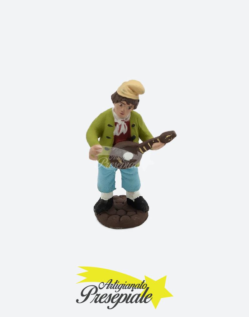 Pastore con mandolino 7 cm