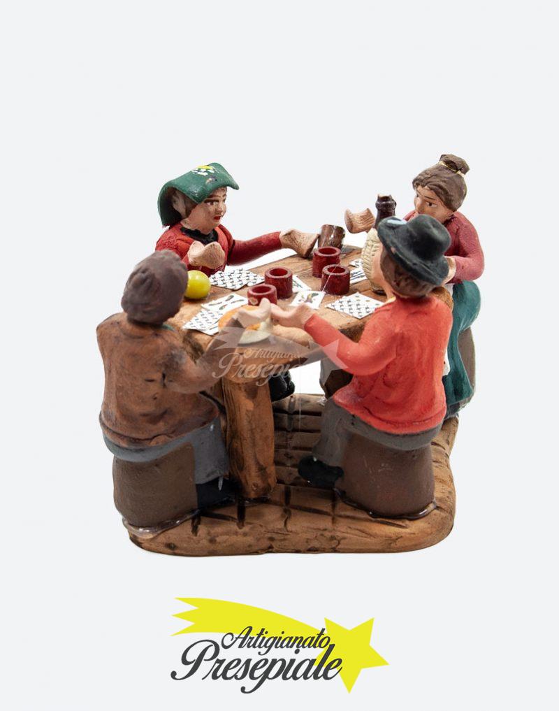 Giocatori di carte 7 cm