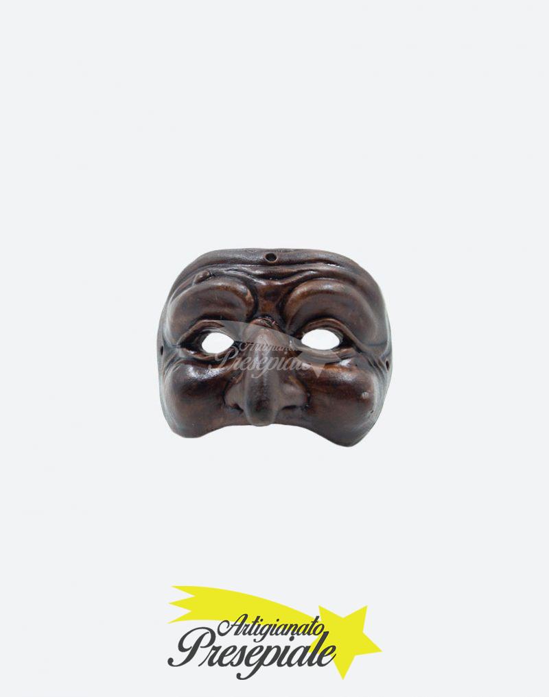 Maschera di pulcinella 12 cm