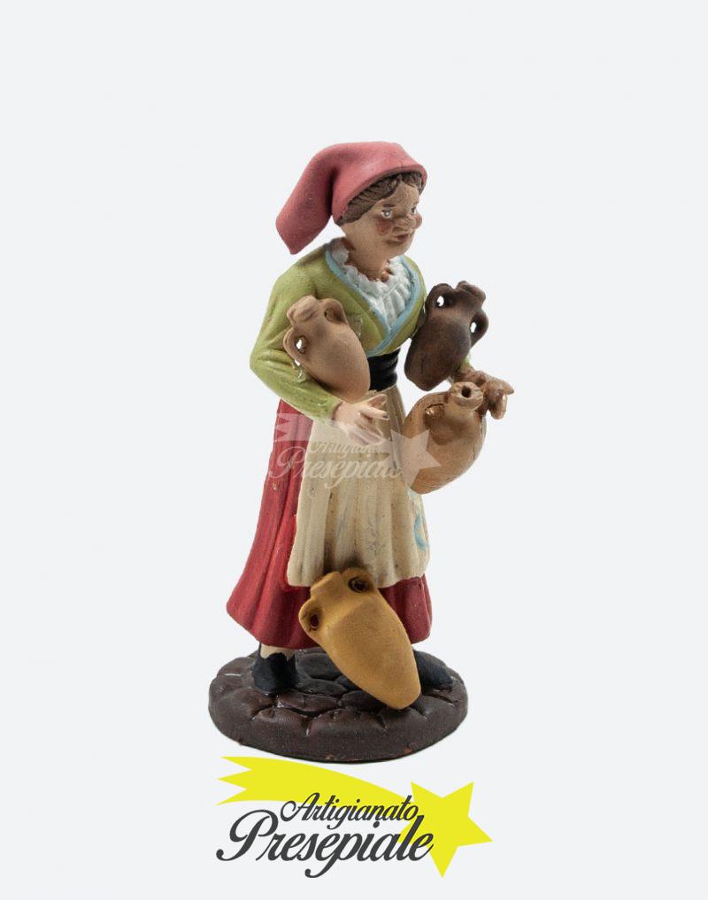 Anziana con brocche 12 cm