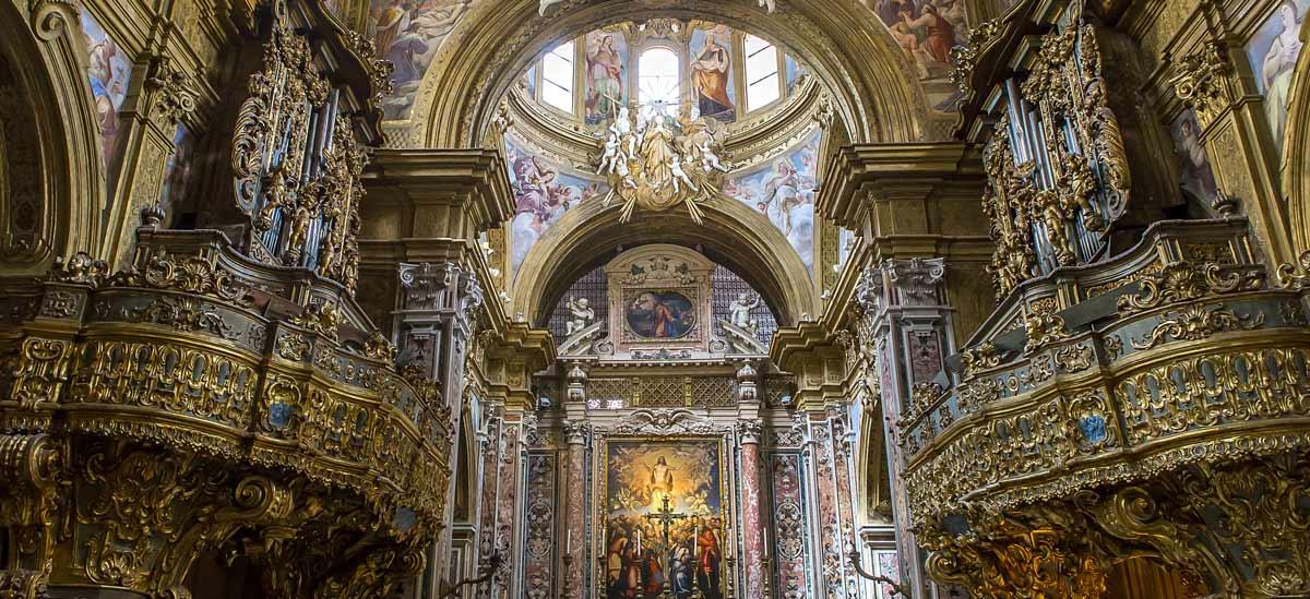 Il barocco nel Monastero di Santa Patrizia