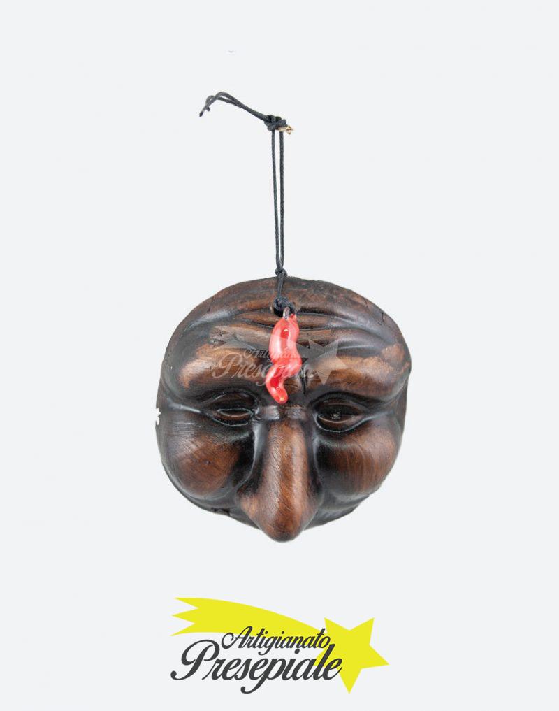 Maschera di pulcinella 8 cm