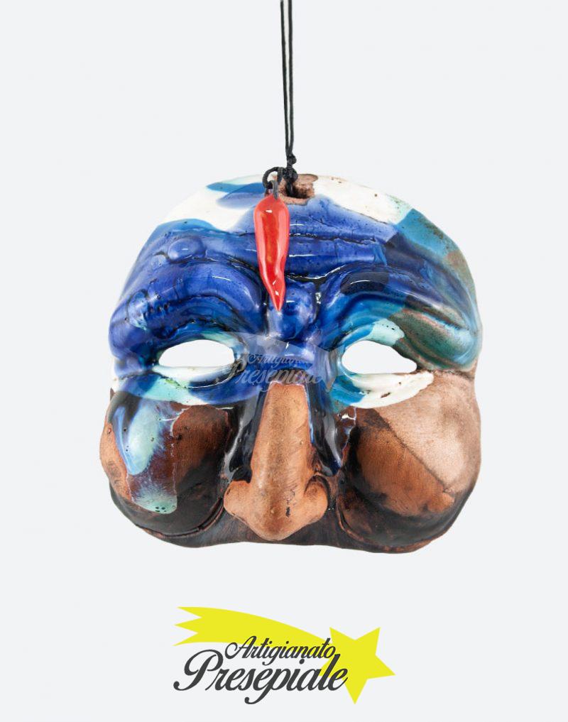 Maschera di pulcinella 10 cm