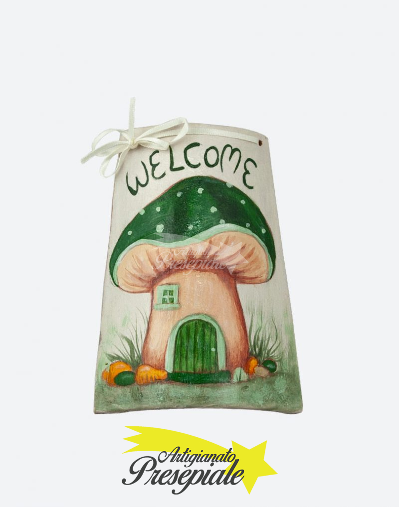 Tegola welcome verde