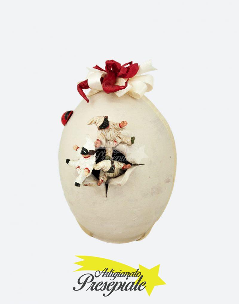 Uovo con mini pulcinella