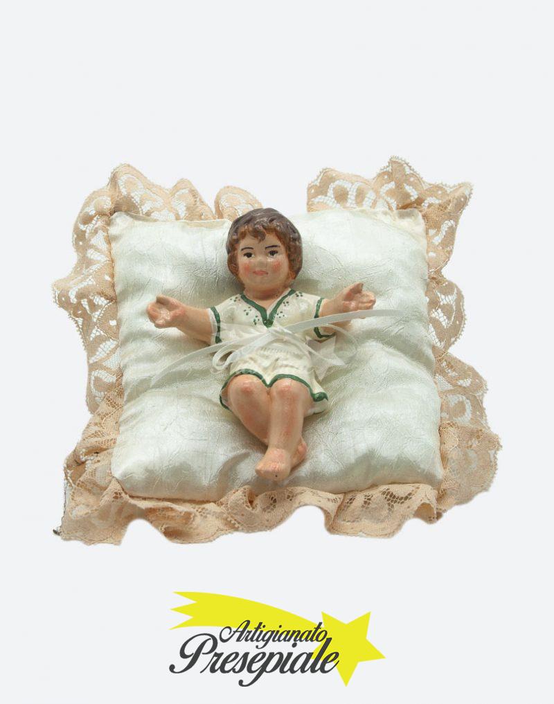 Bambino su cuscino 11 cm
