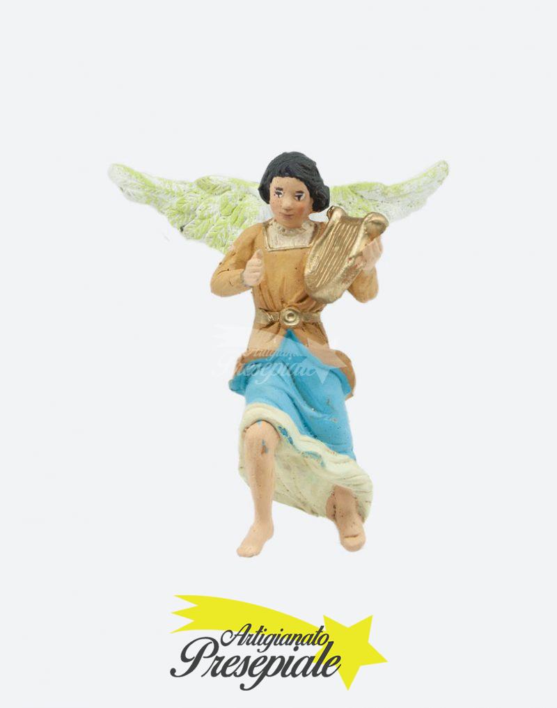 Angelo con arpa 10 cm