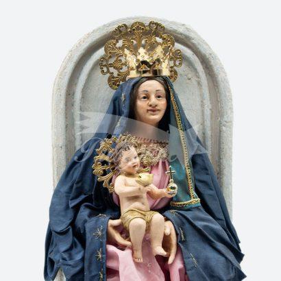 Madonna dei Lattani con Bambino