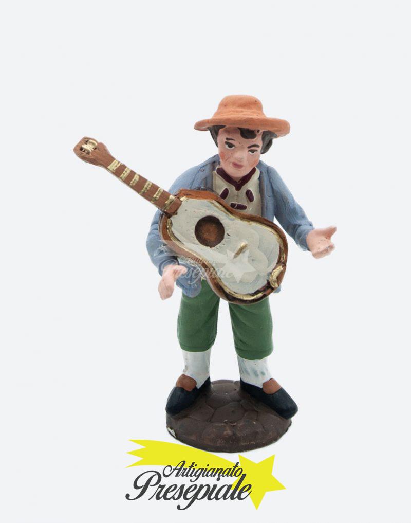 Suonatore di chitarra 10 cm
